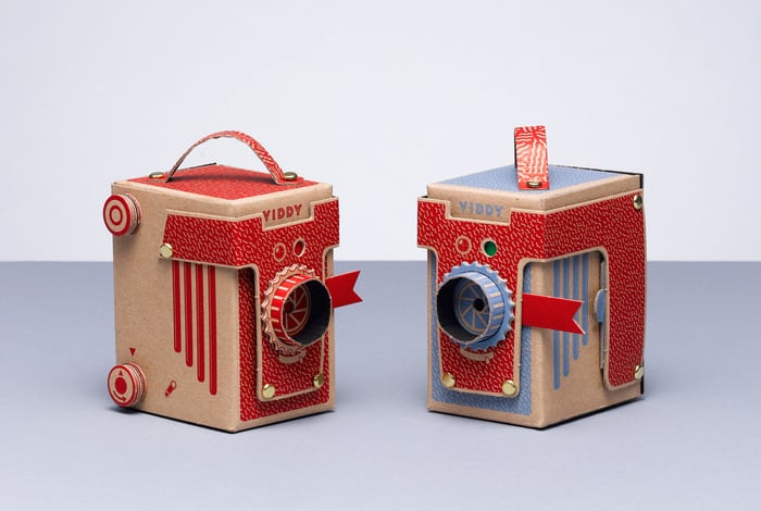 Viddy a paper do it yourself pinhole camera kit made from card viddy a paper do it yourself pinhole camera kit made from card solutioingenieria Images