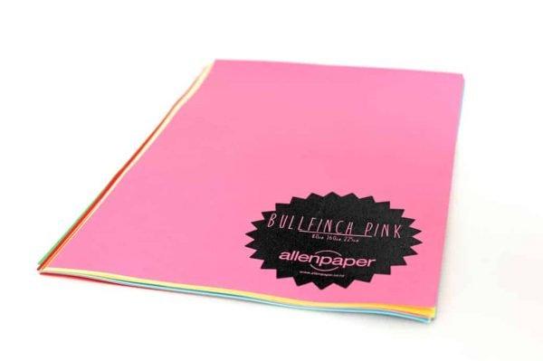 Bullfinch Pink - Kaskad Coloured Paper