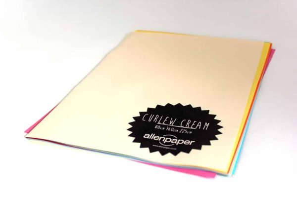 Curlew Cream - Kaskad Coloured Paper