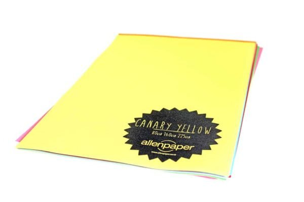 Canary Yellow - Kaskad Coloured Paper