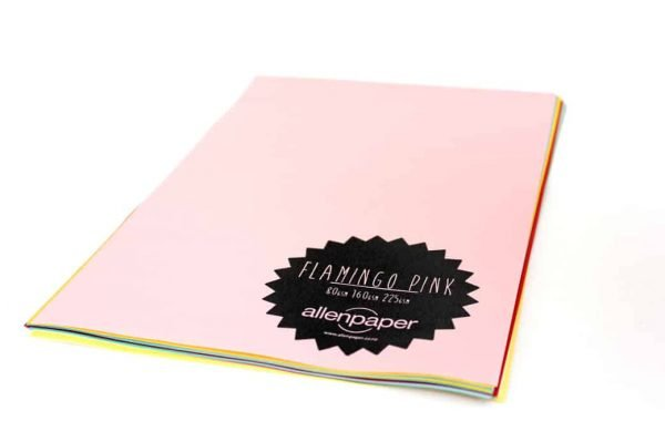 Flamingo Pink - Kaskad Coloured Paper
