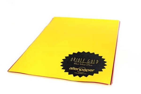 Oriole Gold - Kaskad Coloured Paper