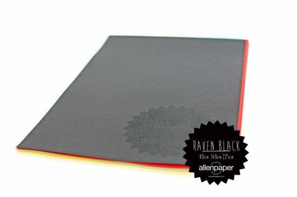 Raven Black - Kaskad Coloured Paper