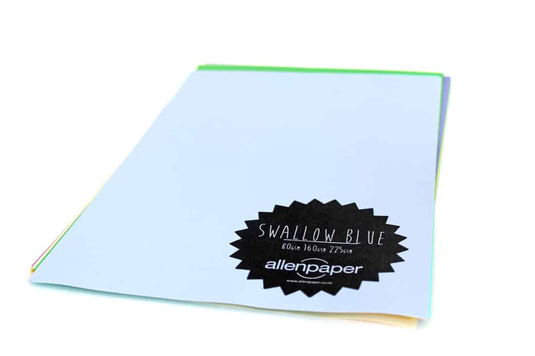 Swallow Blue - Kaskad Coloured Paper