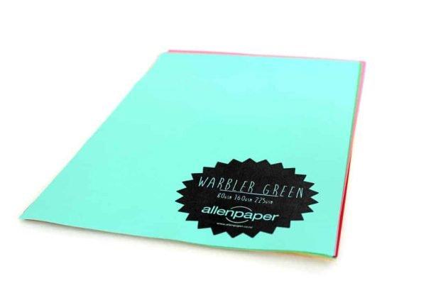 Warbler Green - Kaskad Coloured Paper